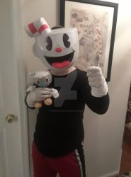 Cuphead Cosplay by TheInkArcher