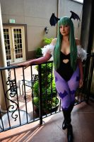 Morrigan Aensland by laurabububun