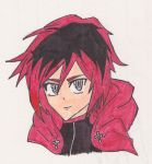 Ruby Rose (Colour and scanned) - RWBY by XenoGX18