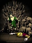 Who Sits The Iron Throne? by AzyArt