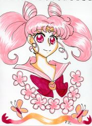 Sailor Chibi Moon - May Copic Colors Challenge by iTiffanyBlue