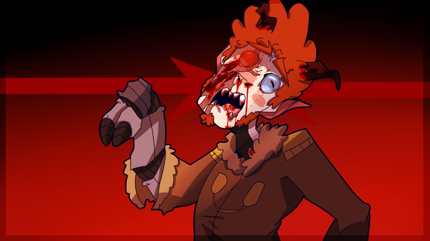 Goretober Day 16~ Painful Transformation by Commander-Carrot