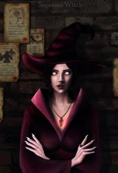 Supreme Witch by Anylev