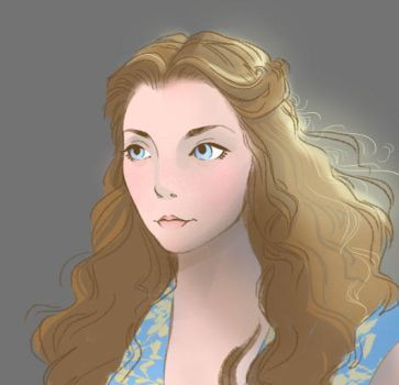Game Of Thrones- Margaery by Astressedscribble