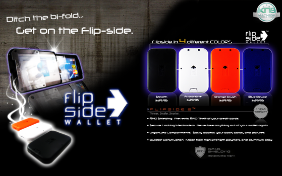 Flip-Side Wallet Ad by knightmultimedia