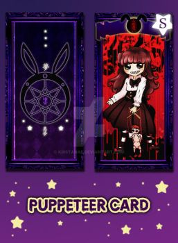 Puppeteer Card of Kuromoon by kristanae