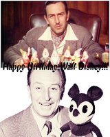 Happy Birthday Walt Disney by Before-I-Sleep
