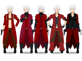The Dante collection (with codes!) by TheLastGallant