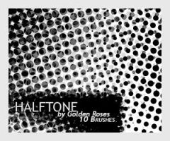 Brushes Halftone by expressoneself