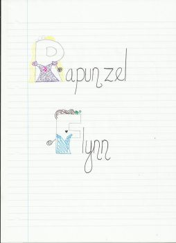 Rapunzel and Flynn by Topdog562
