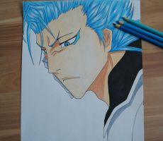 Grimmjow - Bleach by Scarlet---Sky