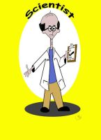 The Scientist by OLDDOGG