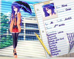 [SS] HIME Umao - Fiche personnage by Niranei