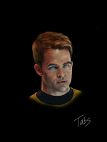Captain James T. Kirk by TabsMD