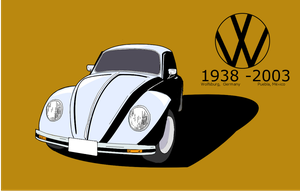 VW Beetle 'Vocho', 9 years after your death by MikeWong2795