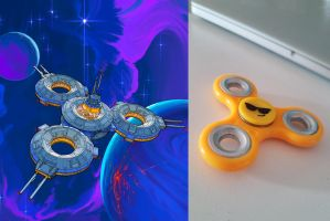 The ISS Spinner by entroz