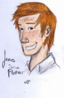 James Sirius Potter by ThroughMyThoughts