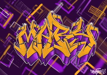 MA lakers  by Hucklemary