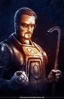 Half Life / GORDON FREEMAN by badillafloyd