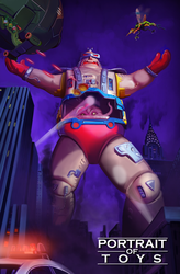 Portrait of Toys - Krang's Giant Android Body by BoscoloAndrea