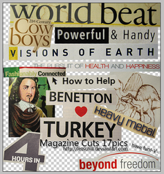 Magazine Cuts Pack 17pngs by letschill