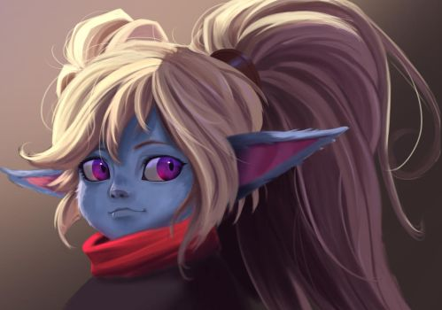 League Of Legend             Poppy by Pandhes