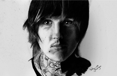 Drawing: Oliver Sykes by crazyemm