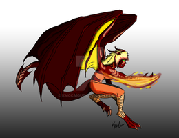 Kaida Fire Form by kmccaigue