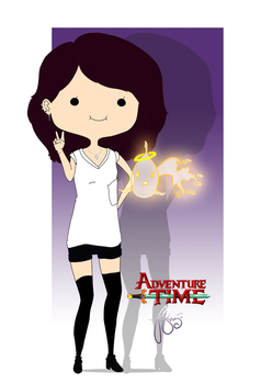 Me - Adventure Time version by BlizzyStorm