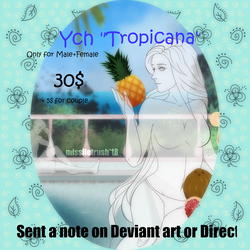 YCH Tropicana by MissLLeTrush