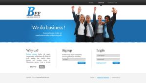 Corporate WebDesign by chrbet