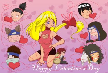 Happy V-Day from Naruko by SinjaAussiaAngels