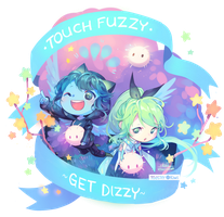 COMMISSION: Fuzzy Fest by ToasterKiwi