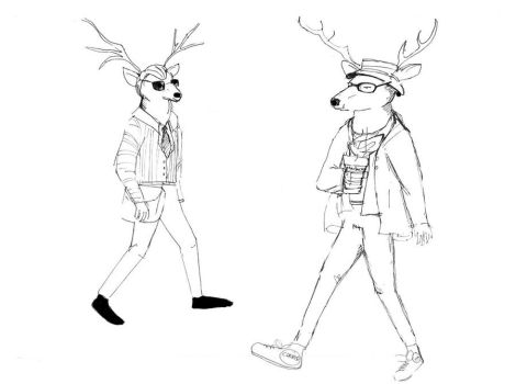 Metrosexual and Hipster by Minx188
