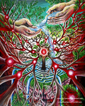 Emergence of Mind [Acrylic Painting] by Adam-The-Person