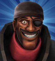 Demoman by Zyari