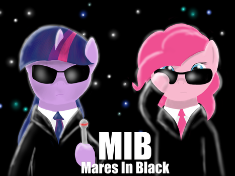 Mares In Black by 13Era