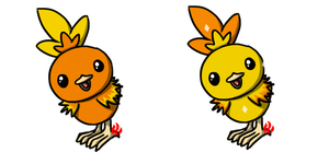 Pokemon #255 - Torchic by Fyreglyphs