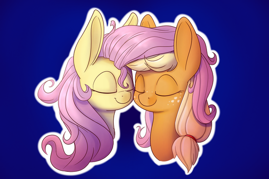 Pony Nuzzles by Heir-of-Rick