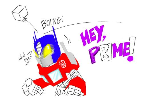 Megatron is a Jerk in color by trancebam