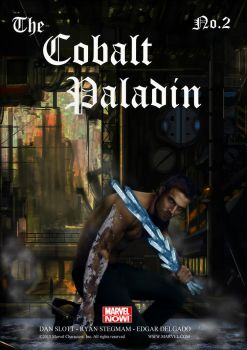 The Cobalt Paladin Nr.2 by sylgrio