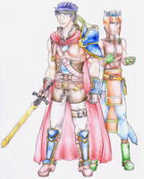 Ike and Ranulf by Prince-Stephen
