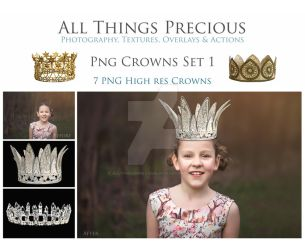 PNG CROWNS by AllThingsPrecious
