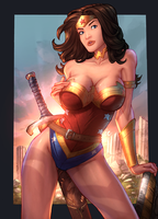 Wonder Woman by vest