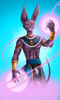 Beerus by Gotetho