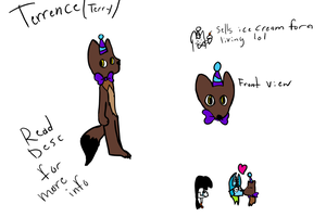 Terrence (Terry) Reference Sheet by Scancilen