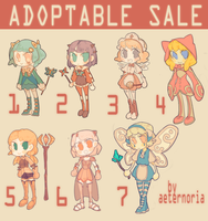(1\7 OPEN) MAGE GIRL ADOPTABLE SALE by aeternoria