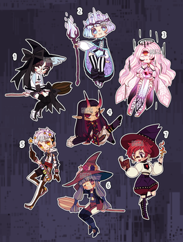 closed/pending - Mage Auction by Kariosa-Adopts