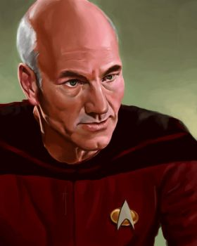 52 Portraits #39: Picard by rflaum