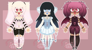 [Adopts] Vile Valentines [CLOSED] by ShatteredSightAdopts